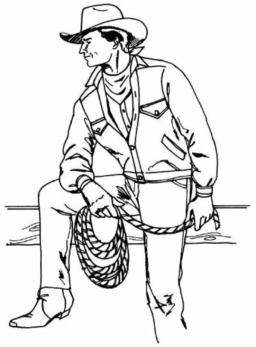 5つのステップでカウボーイを描く方法