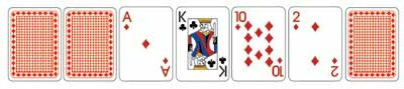 セブンカードスタッドポーカーの方法