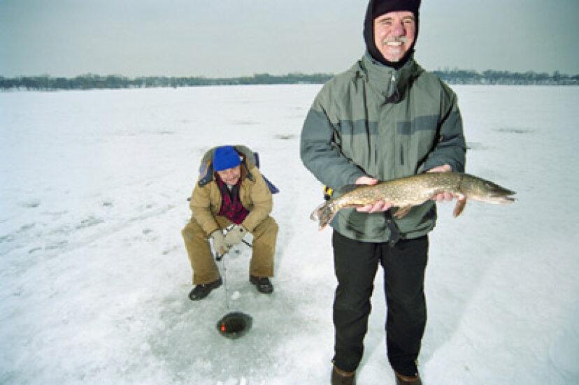 氷釣りのしくみの紹介