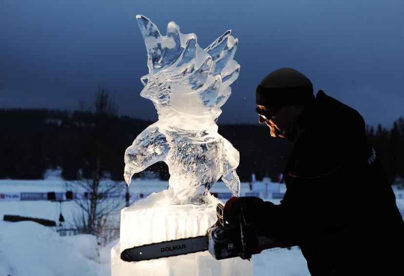 氷の彫刻のしくみ