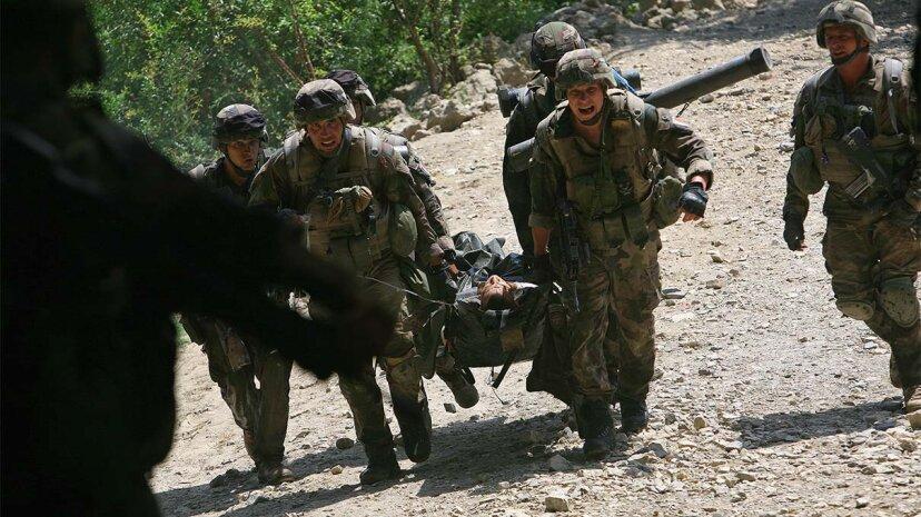 soldier, injuries
