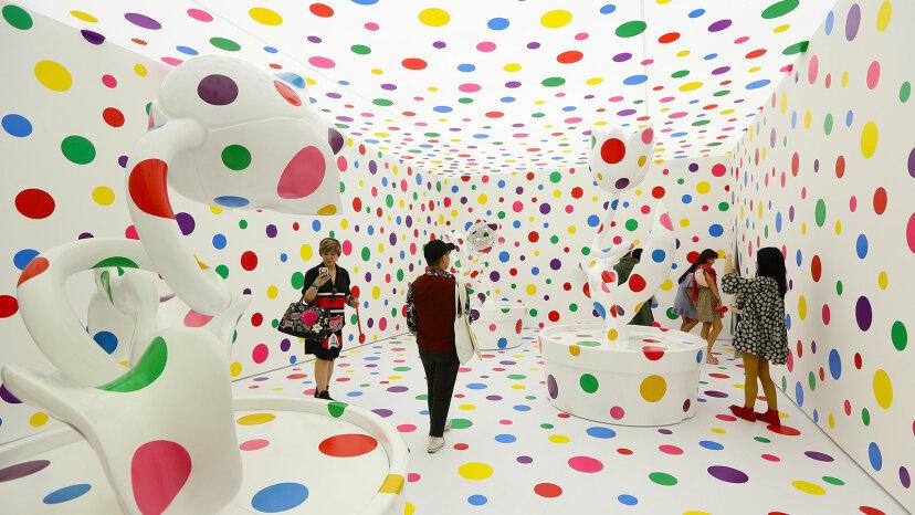 あなたはこれらの美術館の展示会の芸術です!
