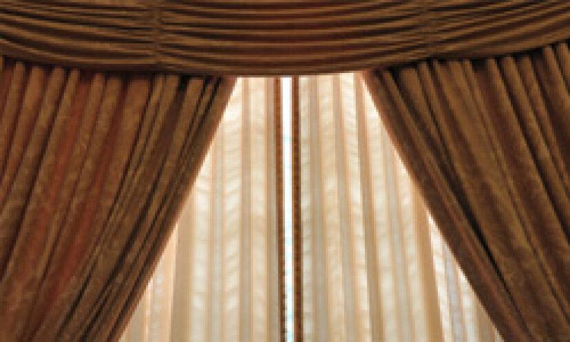 カーテンを掛ける方法