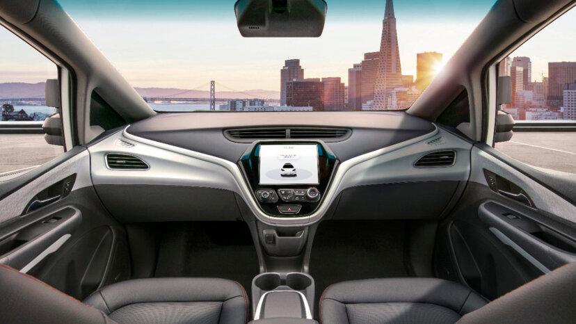 Das GM-Auto ohne Lenkrad oder Pedale