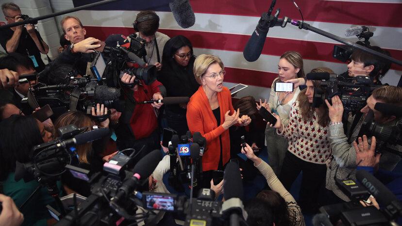 Elizabeth Warren Iowa