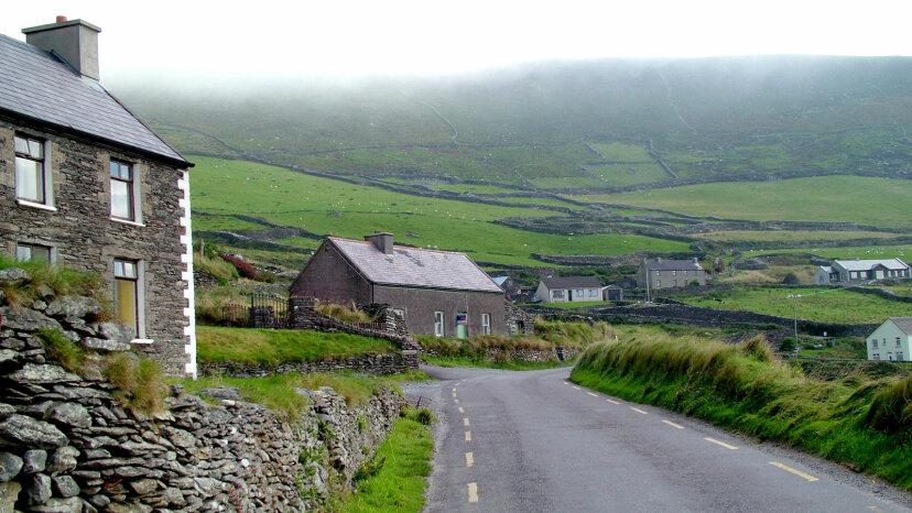 village, Dingle Peninsula, County Kerry Ireland