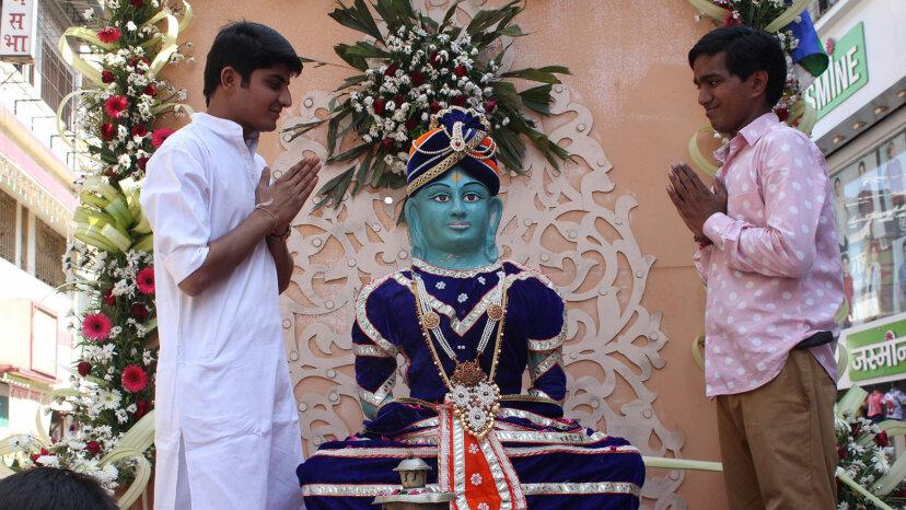 Mahavir Jayanti  homage