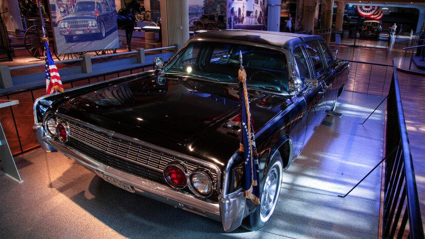 JFK assasination limo