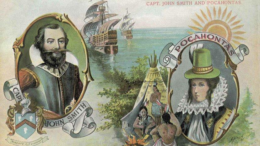 John Smiths wahre Geschichte ist viel besser als die fiktive Geschichte