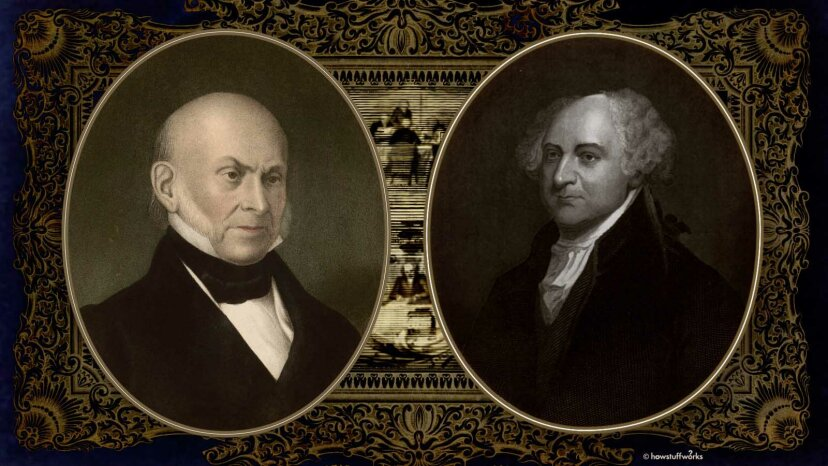 ジョン・クインシー・アダムズとジョン・アダムズ:最初の米国の政治家の王朝