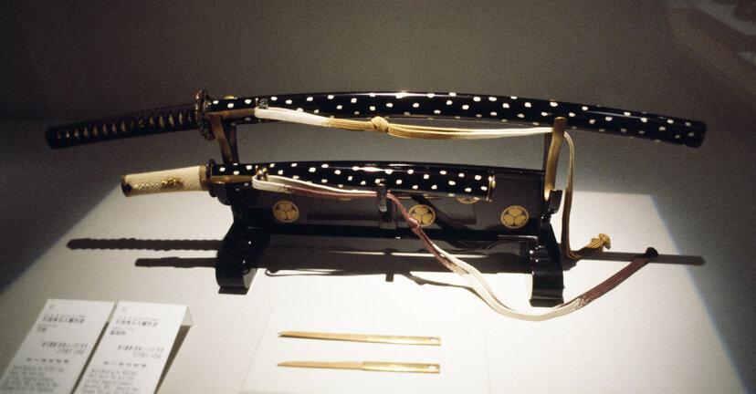samurai sword, katana, wakizashi, daisho