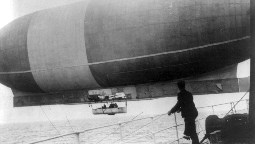 "airship ""America"""
