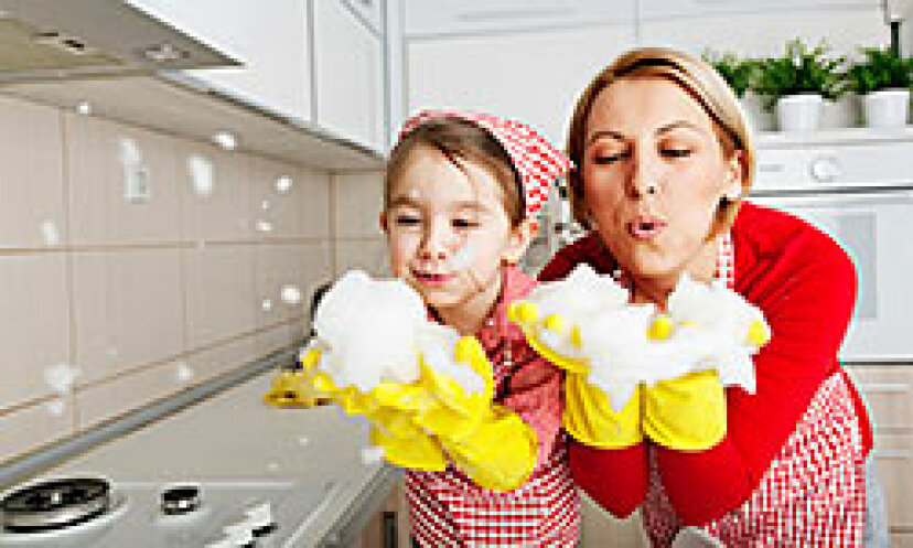 家事委任101:子供たちを働かせる