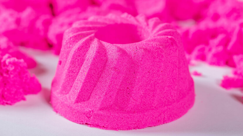 pink kinetic sand