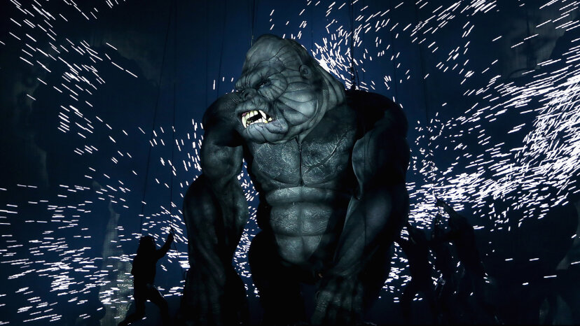 King Kong on stage