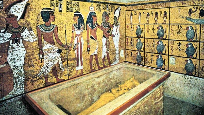 King Tut's tomb