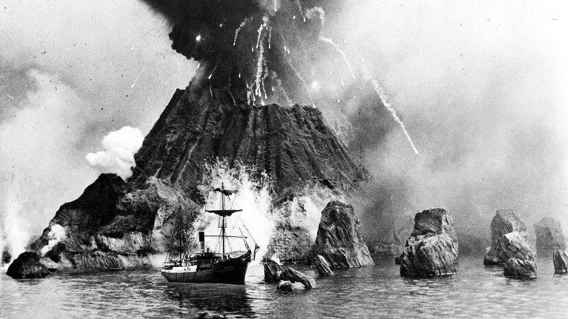 クラカトアが吹いたとき:1883年の噴火が世界をどのように変えたか
