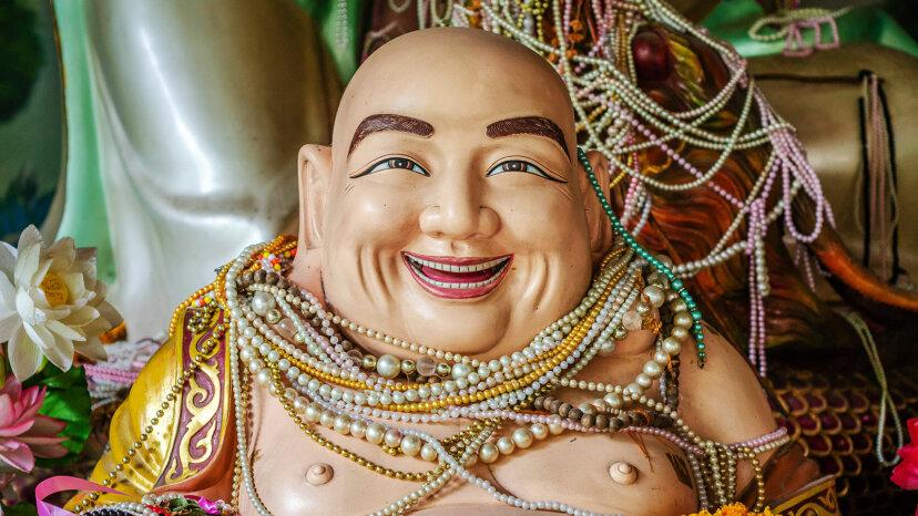 laughing Buddha, Budai