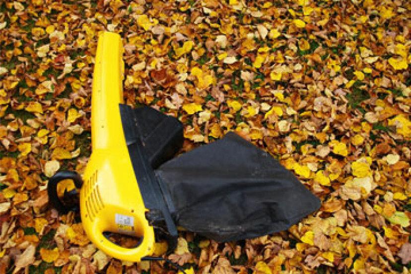 芝生と庭の掃除機のしくみ
