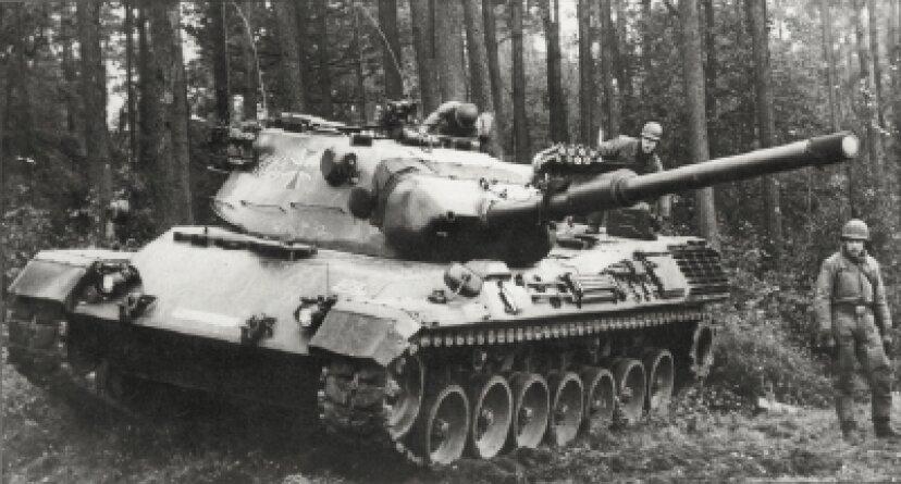 レオパルト1主力戦車