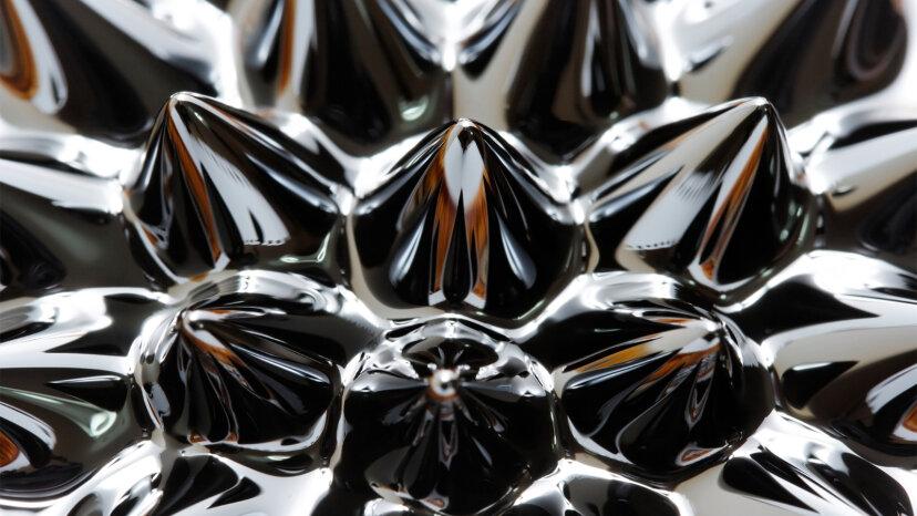 Neue Flüssigkeitsmagnete gehen an feste Magnete können nicht