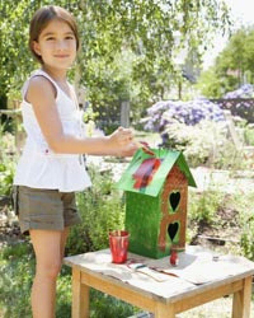リサイクルされた巣箱の作り方