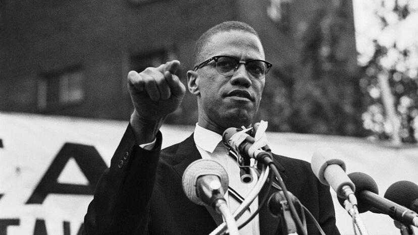 """""""Mit allen Mitteln notwendig"""": Das Leben von Malcolm X."""