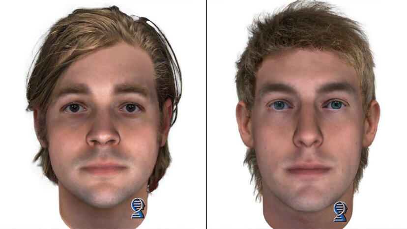 Zusammengesetzte Gesichter aus DNA helfen bei der Lösung kalter Fälle