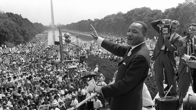 mlk, march on washington