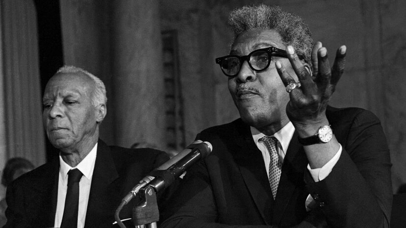 A. Philip Randolph and Bayard Rustin