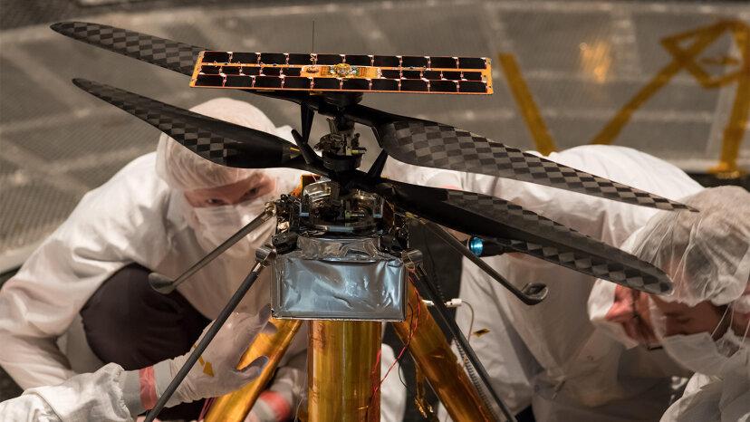 Kann ein Hubschrauber auf dem Mars fliegen? Die NASA sagt ja