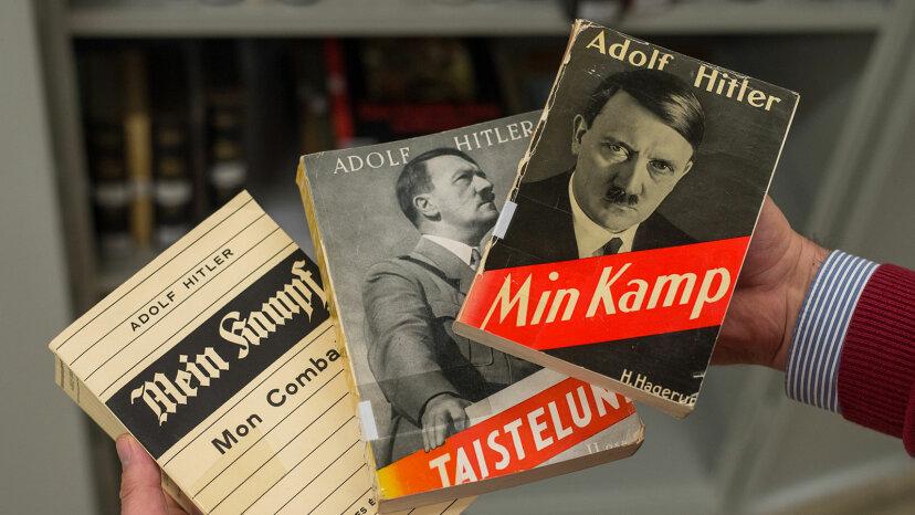copies of Mein Kampf