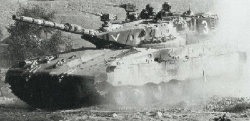 メルカバ主力戦車