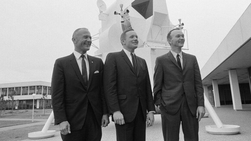 Apollo 11 Command Module pilot Michael Collins