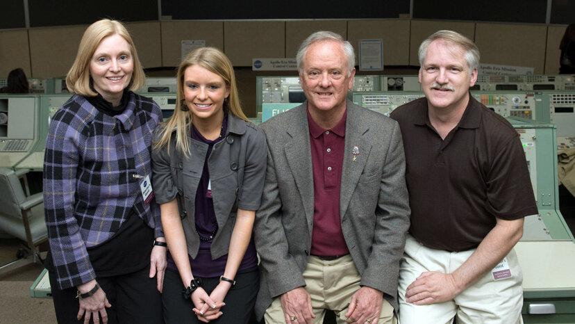 Una familia ha enviado flores a la NASA durante más de 30 años