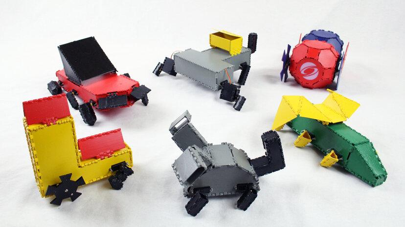 Robogami del MIT quiere que personalices robots imprimibles en 3-D inspirados en Origami