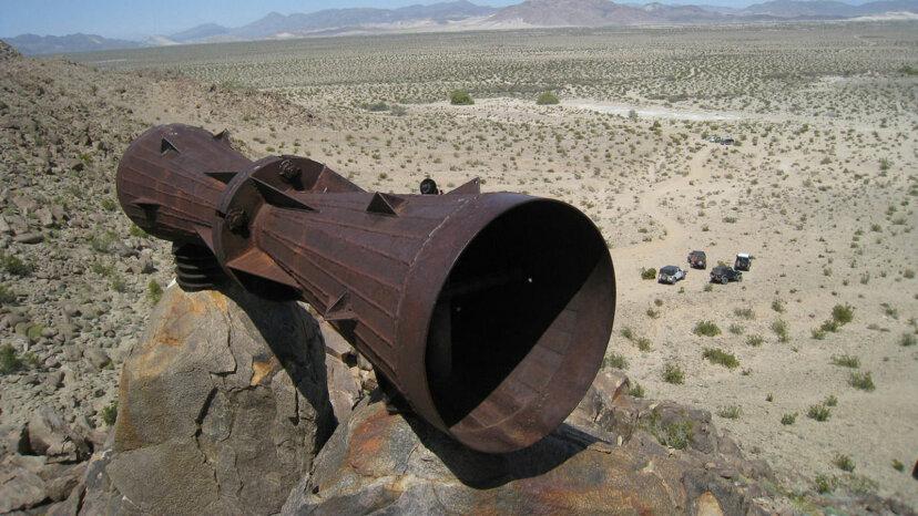Chi c'è dietro il misterioso megafono del deserto del Mojave?