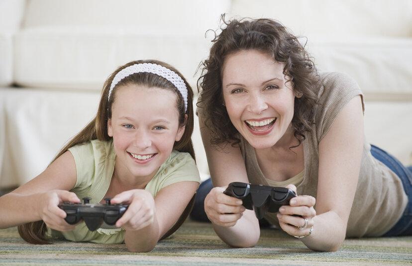 ママ向けにデザインされたビデオゲームはありますか?