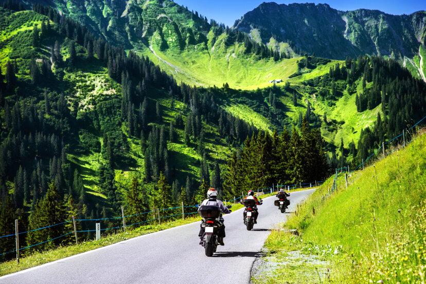 10の素晴らしいオートバイ旅行