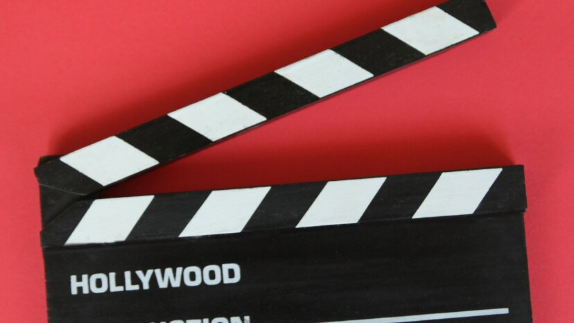 filmmaker clapboard