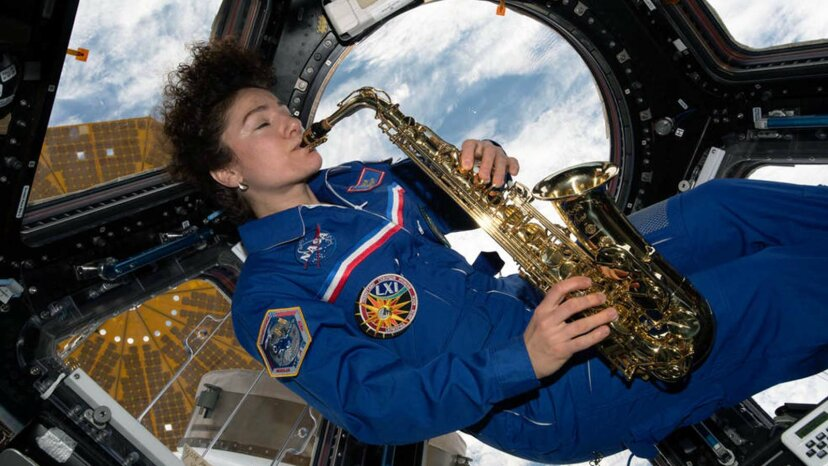 saxophone on ISS