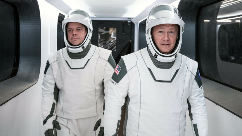 La NASA y SpaceX se preparan para hacer historia con el lanzamiento espacial tripulado