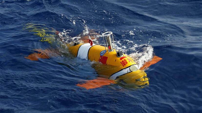 Chinesisches Roboter-U-Boot sieht aus wie ein Clownfisch