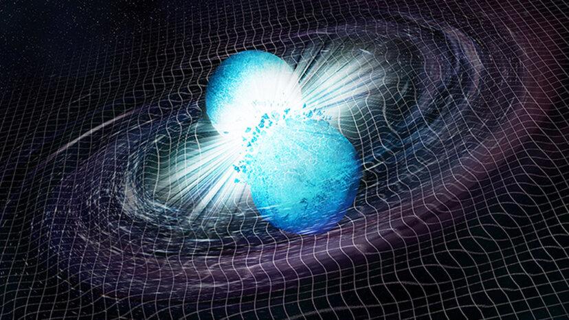 2つの中性子星が衝突すると何が得られますか?