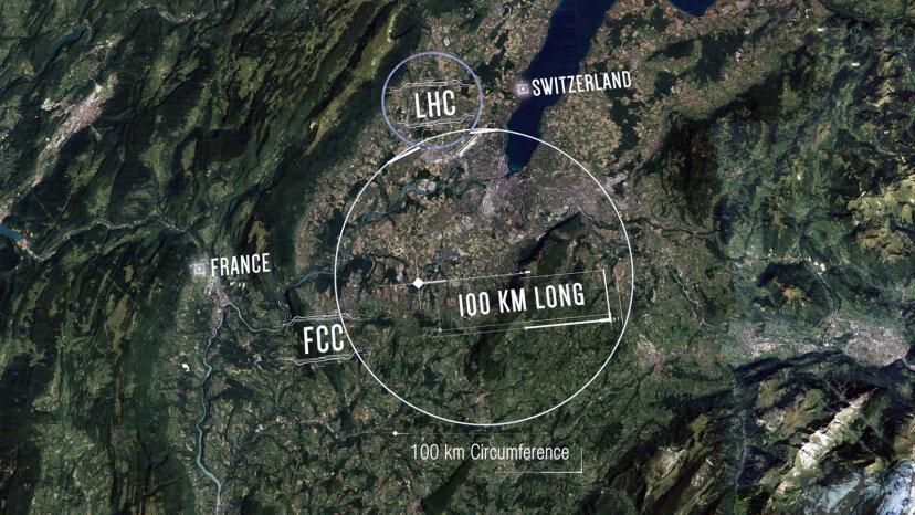 CERNは、より大きく、より悪い粒子衝突型加速器を構築したいと考えています
