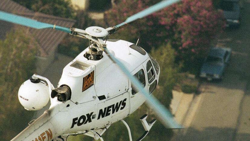 ¿Los drones reemplazarán a los helicópteros de noticias?