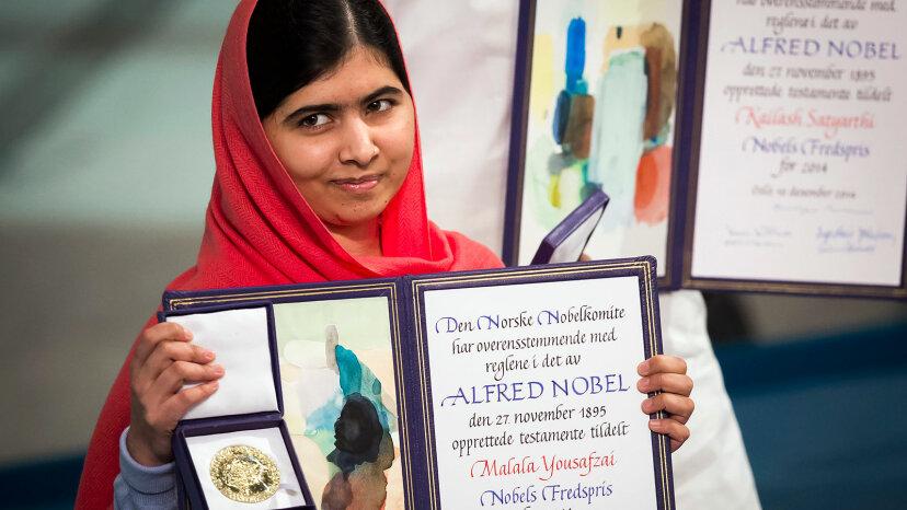 Malala Yousafzai Nobel Peace Prize
