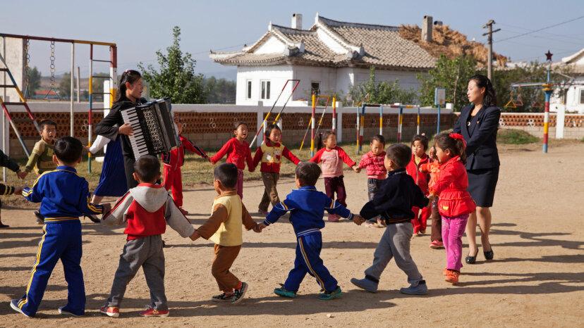 kindergarten, north Korea