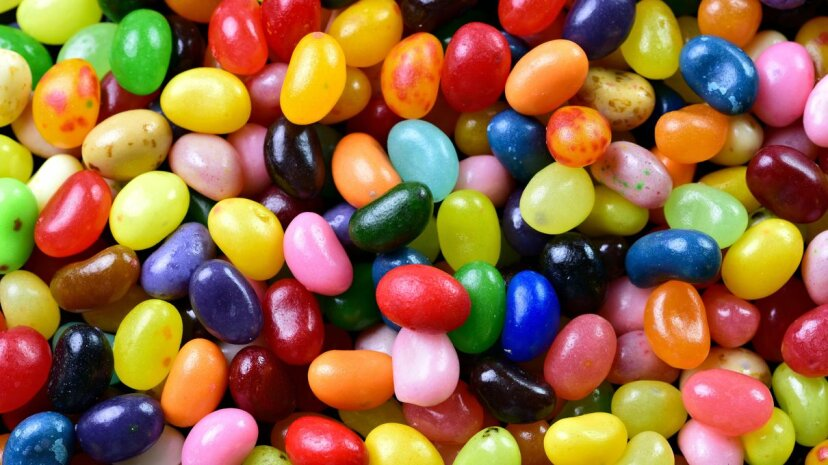 "Despite many people bypassing black jelly beans when scooping up the treats, licorice jelly beans remain one of Jelly Belly's 50 ""official"" flavors, alongside staples like buttered popcorn, cinnamon and juicy pear. Cathy Scola/Moment/Getty Images"