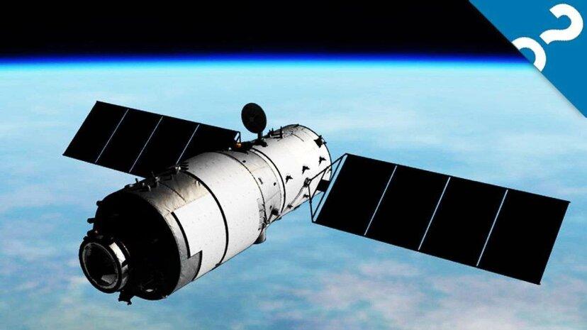 Chinas Raumstation ist auf Crashkurs mit der Erde